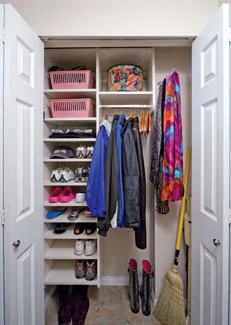 Elegant Organizing The Hall Closet   Professional Organizer | Image  ConsultantProfessional Organizer | Image Consultant