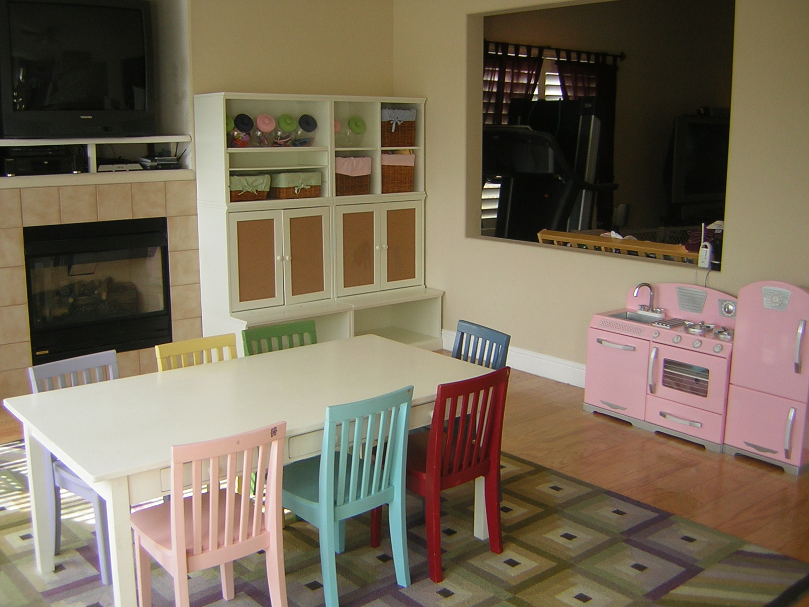 A Dining Room Transformed Into Kids Playroom