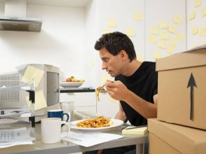Eating on Computer