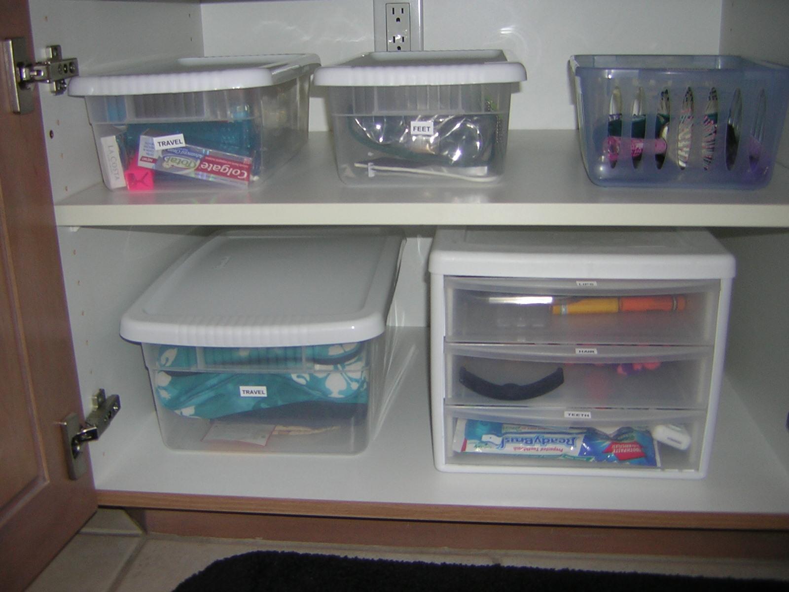 Bathroom Cabinet Organization San Diego Professional