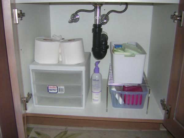 Bathroom Organizing San Diego Professional Organizer