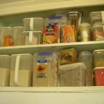 rectangular plastic storage containers