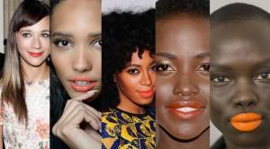Celebrities in Bright Lipcolors