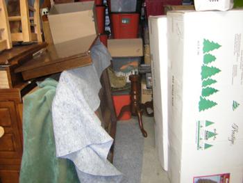 Organizing and Eliminating A Storage Unit