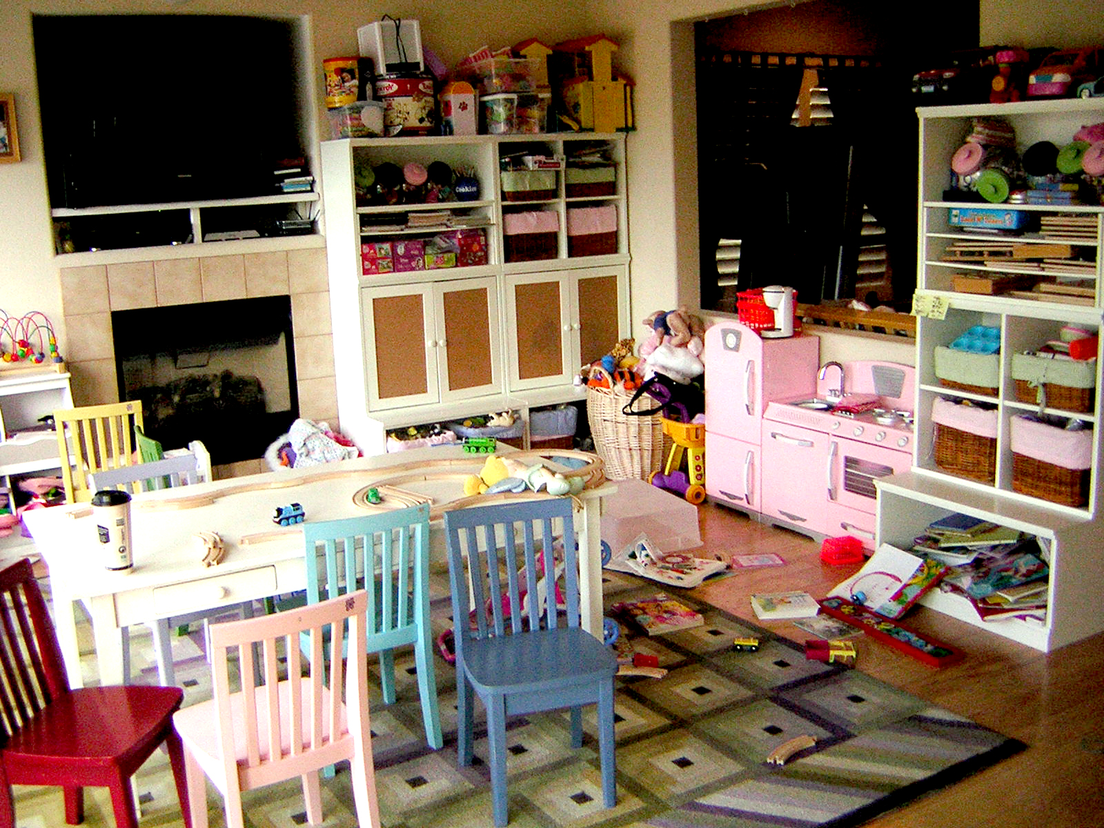 A Dining Room Transformed Into A Kid S Playroom