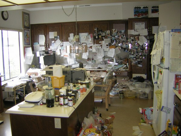 Organizing Kitchen Office For Client With Alzheimer Issues