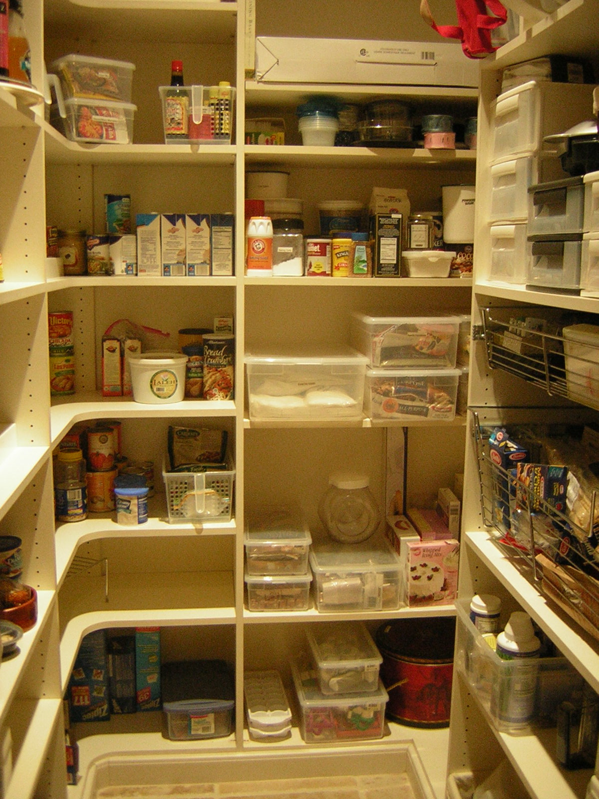 Kitchen Pantry Gets Optimized And Organized Wordpress