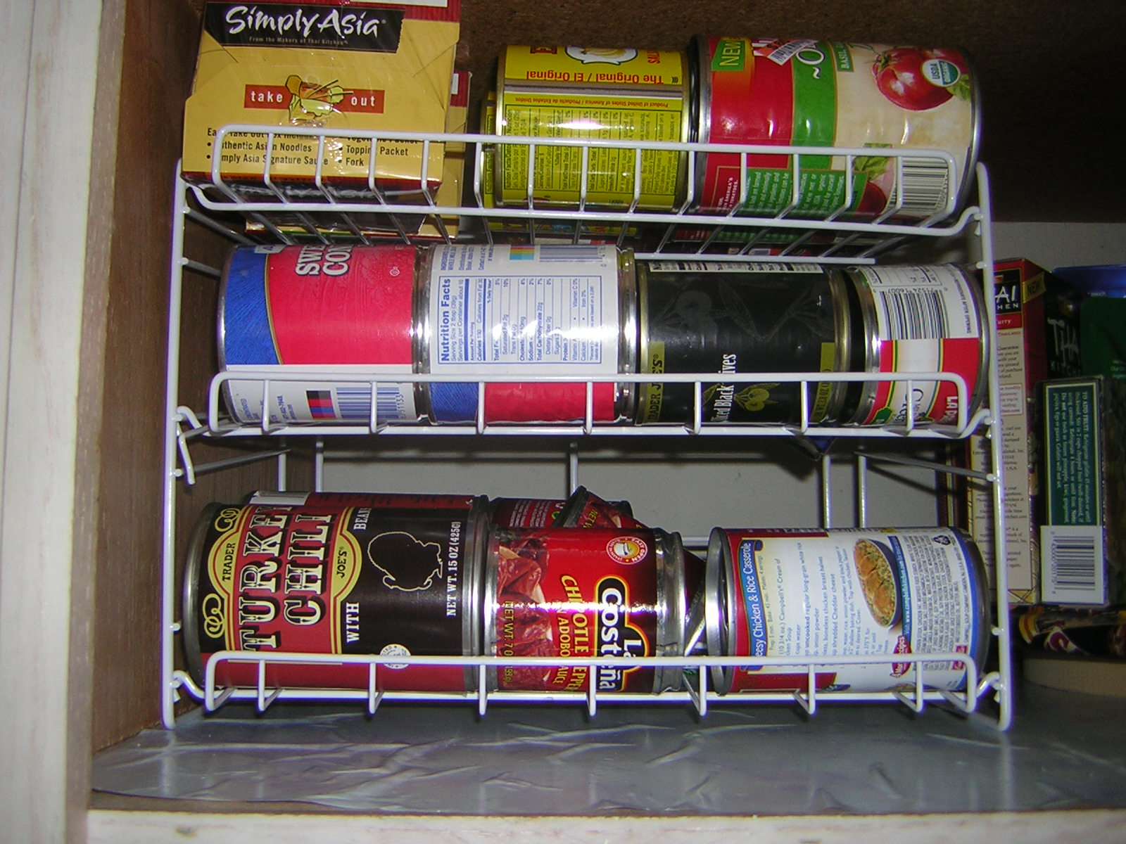 Three Sure Fire Ways To Organize The Canned Goods In Your