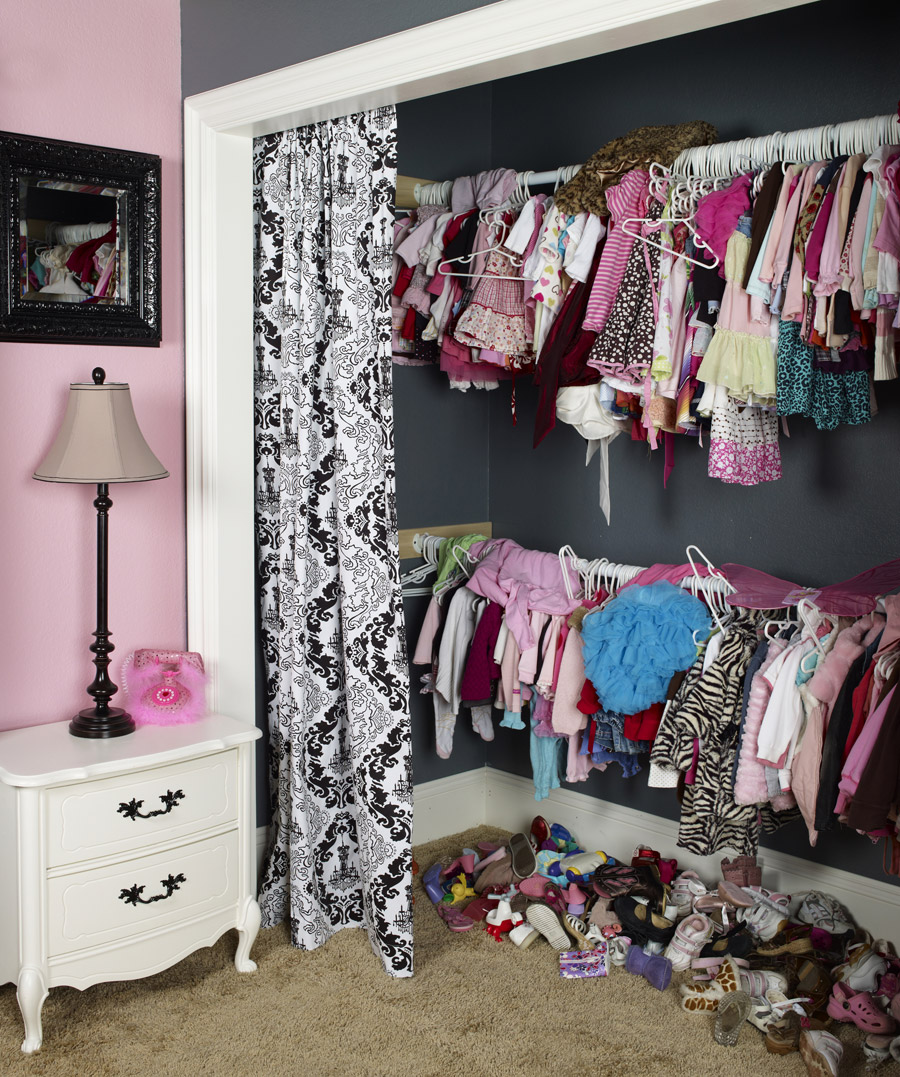 kid s clothes and cluttered closets professional organizer image rh addspacetoyourlife com