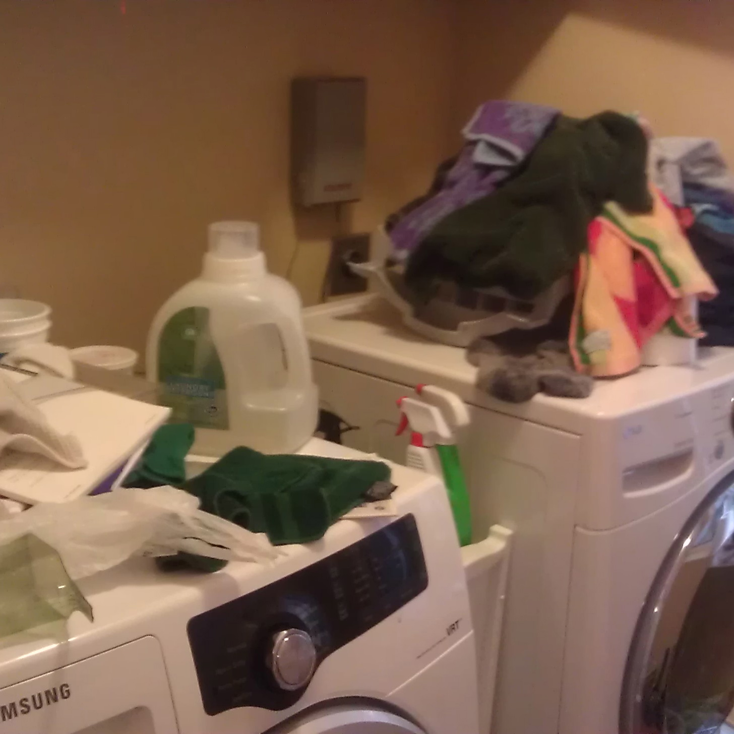 A Laundry Room Comes Clean